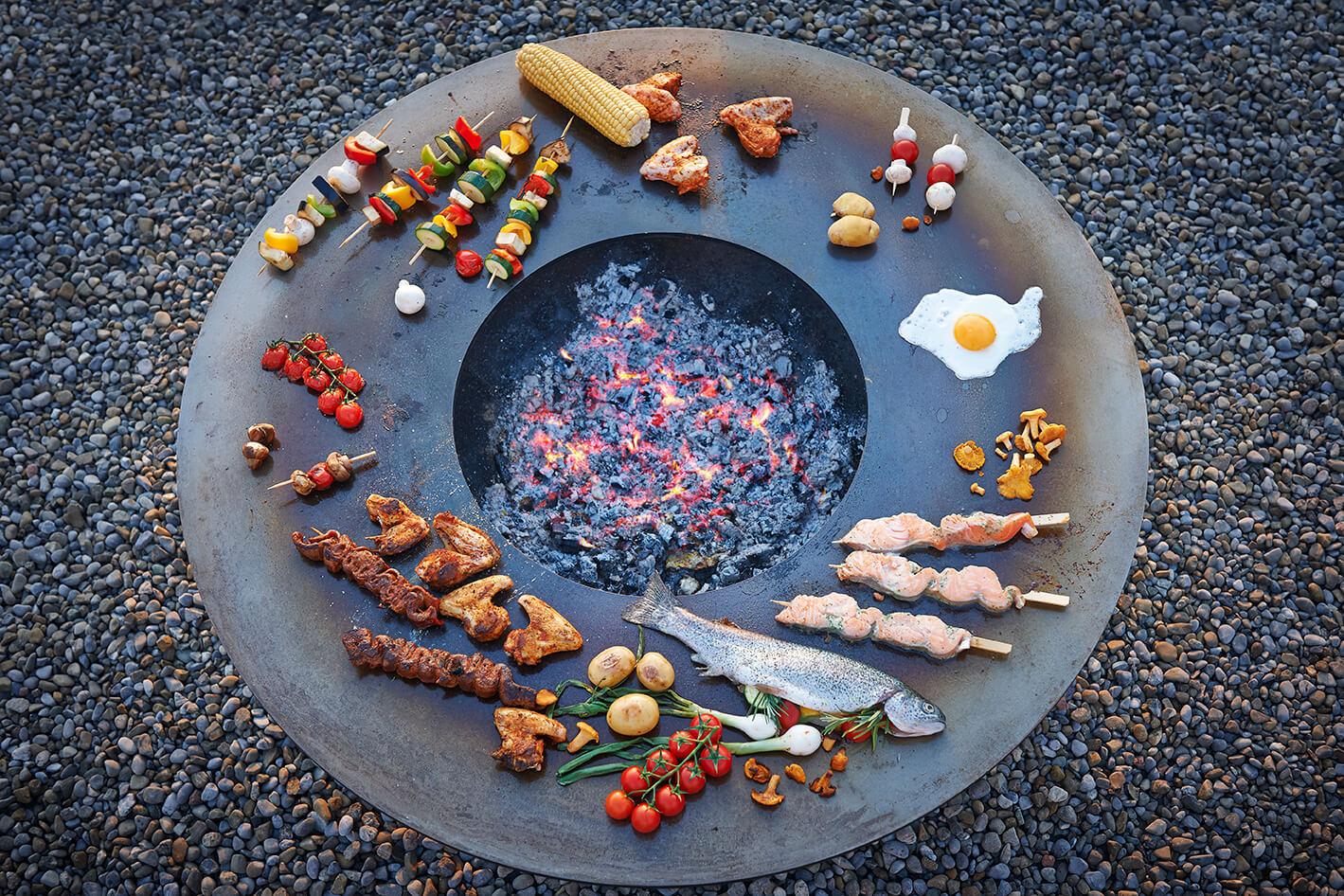 Outdoor-Feuerstellen, Griller